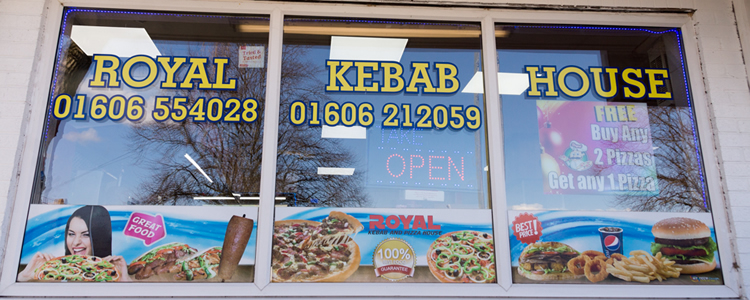 Royal Kebab House, Winford